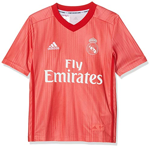 adidas Kinder Real Madrid Third Fußballtrikot XXL Real Coral/Vivid Red