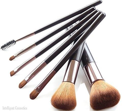 Set de pinceaux à maquillage professionnel cheveux synthétique de haute
