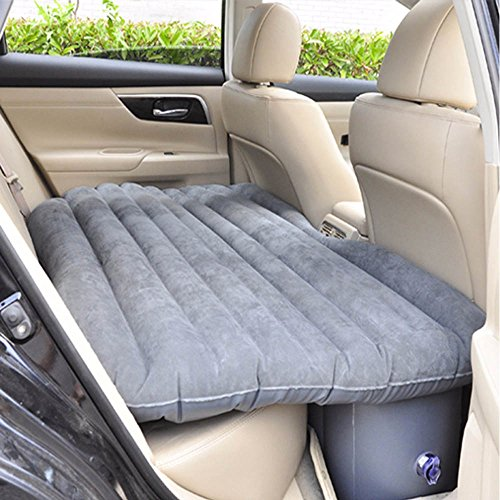 Shag Car Air Sofa Bed With Electric Pump