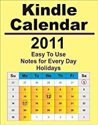 2011 Kindle Calendar and Day Planner (English Edition)