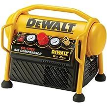 DeWalt DPC6MRC-QS Compresor de 6L sin Aceite y portátil de 1.100W con presión