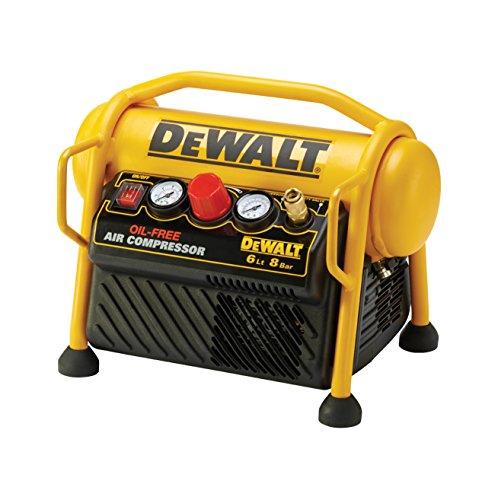 DeWalt DPC6MRC-QS Compresor 6L sin aceite portátil