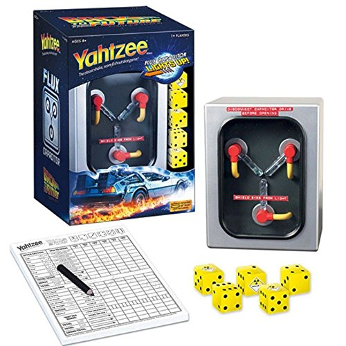 YAHTZEE: Back to the Future Collector's Edition Board Game by USAopoly