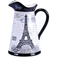 Certified International Paris Travel Pitcher, 2 quart, Multicolor by Certified