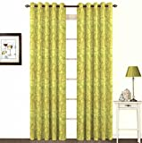 Skipper Eyelet Cotton Window Curtain - 4...