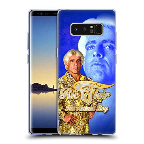 Offizielle WWE Goldene Robe Ric Flair Soft Gel Hülle für Samsung Galaxy Note8 / Note (Robe Flair Ric)