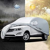 AUDEW Bâche Auto Housse de Protection Couverture Etanche Soleil Pluie UV Extérieure 5.2x2x1.8m XL Pour SUV Voiture