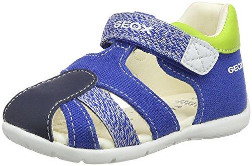 Geox b kaytan d, sandali a punta aperta bimbo, blu (royal/navy), 22 eu