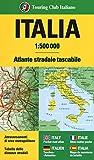 Atlante stradale d'Italia 1:500 000. Ediz. a spirale
