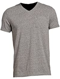 Abercrombie - Homme - Muscle Fit V-Neck Pocket Tee T-Shirt Top - Manche Courte