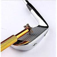 Mamimamih Golfschläger-Reiniger/Rillenschärfer, mit 6Köpfen, für Wedges/Utility-Schläger