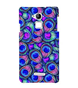 Peacock Wall Art 3D Hard Polycarbonate Designer Back Case Cover for Coolpad Note 3