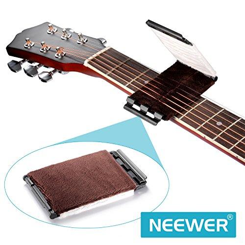 Neewer® ultra morbida microfibra pulizia pulizia corde per basso ukulele mandolino violino e altri strumenti a corda
