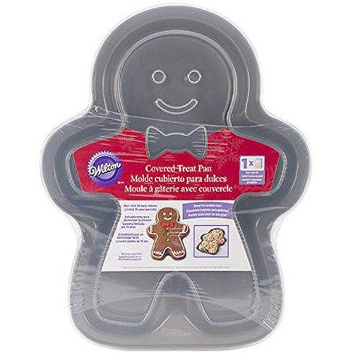 Wilton Cookie-Gingerbread Boy-Cake Pfanne Gingerbread Cookie Pan