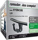 Rameder Attelage démontable avec Outil pour Hyundai i20 + Faisceau 13 Broches...
