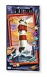 Noris Spiele Schipper 609220399 - Malen nach Zahlen - Leuchtturm Roter Sand, 40x80 cm