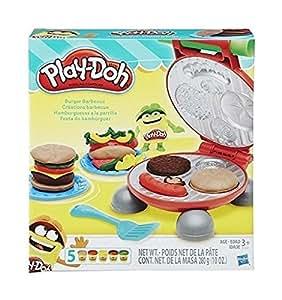 Play-Doh - 0816B5521EU6 - Pâte à Modeler - Burger Party