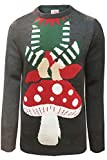 Erwachsene Threadbare Neuheit Weihnachten festlich gestrickte pullover