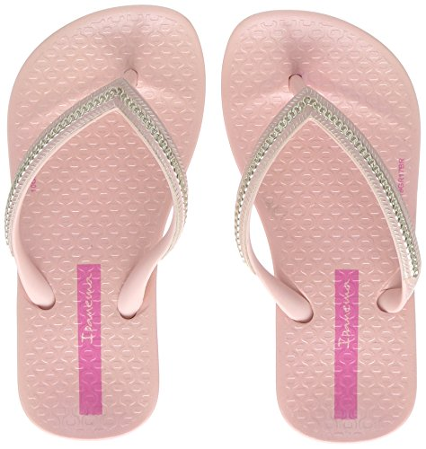 tomic Metallic Kids Zehentrenner, Pink (Pink/Gold), 33 EU (Mädchen Ipanema Flip Flops)