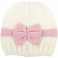 feiXIANG Cappello del bambino Bambino neonato ragazzo neonato maglieria lana cappello cappello morbido berretto Crochet,maglieria lana,0-1Anni