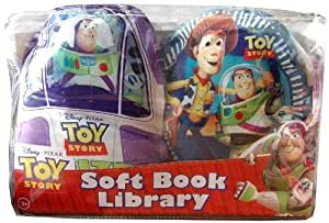 Disney Soft Book Library 2 Pack Toy Story