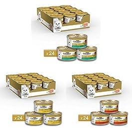 Purina Gourmet Gold Umido Gatto Patè, 3 gusti diversi: 72 lattine da 85 g