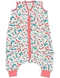 Schlummersack Schlafsack mit Füßen aus Bambus-Musselin für den Sommer ungefüttert in verschiedenen Designs für Jungen und Mädchen