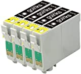 4 Compatible Black XL Printer Ink Cartridges to replace T1811 (18XL Series) for use in Epson Expression Home XP-102, XP-202, XP-205, XP-212, XP-215, XP-225, XP-30, XP-302, XP-305, XP-312, XP-315, XP-322, XP-325, XP-402, XP-405, XP-405WH, XP-412, XP-415, XP-422, XP-425
