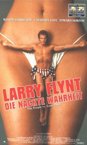 Preisvergleich Produktbild Larry Flynt - Die nackte Wahrheit [VHS]