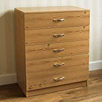 Vida Designs Black Chest of Drawers