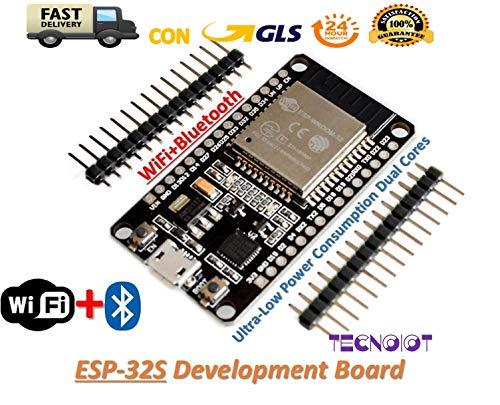 ESP32 Development Board WiFi+Bluetooth Dual Cores ESP-32 ESP-32S Ultra-Low Power | Placa de desarrollo ESP32 WiFi + Bluetooth Dual Core ESP-32 ESP-32S de potencia ultra baja Baja Gps