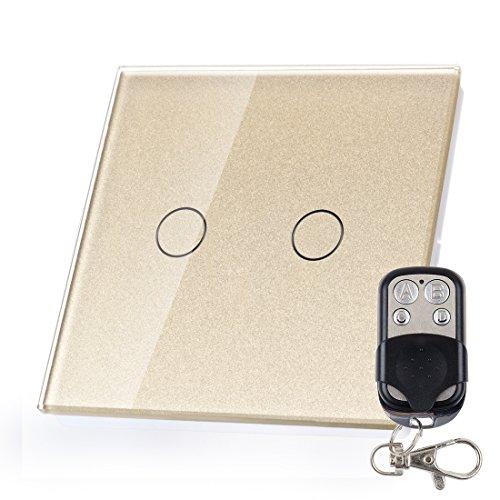1-weg-2-gang-lichtschalter-glas-touchscreen-wandschalter-fernbedienung-de