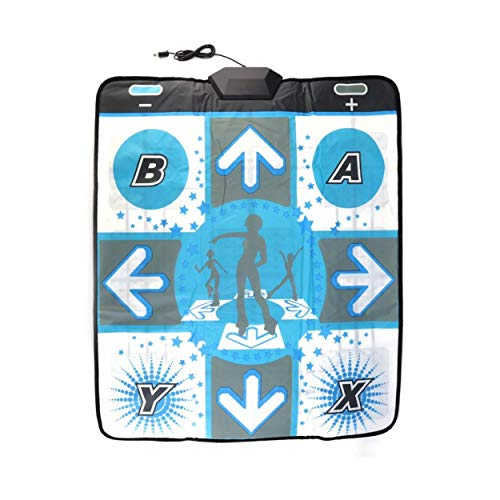 Lorenlli Anti Pads Dance Revolution Pad Mat Dancing Step para Nintendo para Wii para PC TV Accesorios de Juegos para Fiestas más Populares