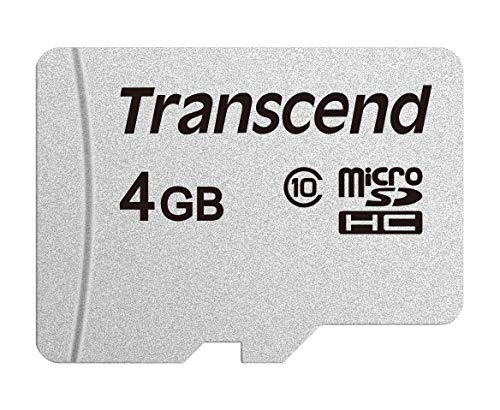 Transcend 4GB microSDXC/SDHC 300S Speicherkarte TS4GUSD300S -