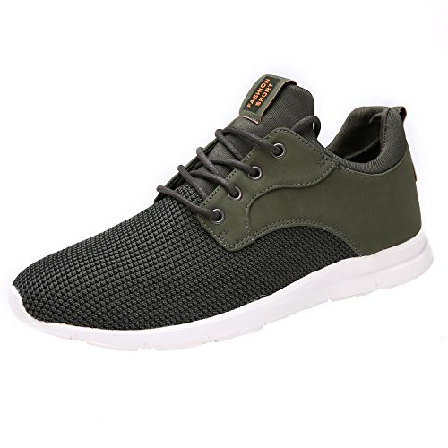 Schuhe Grüne Herren (Maylen Hughes Laufschuhe Herren Leichter Sportschuh Atmungsaktiv Schuhe)