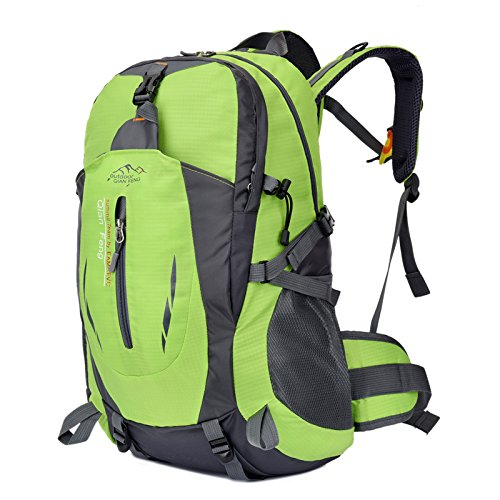 LWJgsa Neue Ultraleicht - Outdoor - Bergsteigen - Taschen Männer Und Frauen Schultern Modestudenten Taschen Computer - Taschen grüne