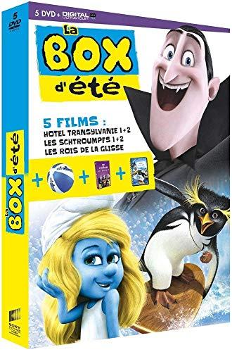 La Box d'été - 5 films: Hôtel Transylvanie 1 + 2 - Les Schtroumpfs 1 + 2 - Les rois de la glisse [#NOM?]