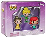 Walt Disney Funko! - Pocket Pop! 3er-Pack - Belle, Tinker Bell, Ariel - 07 Collector's figure Standard