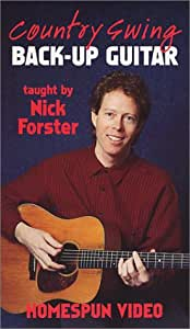 Nick Forster: Country Swing Back Up Guitar [VHS] [Import USA]