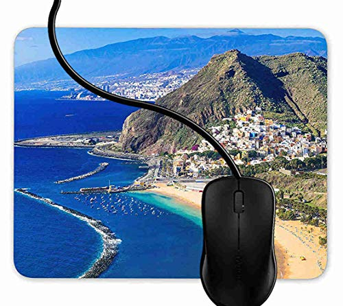 Preisvergleich Produktbild Mauspad San Andres Teneriffa Rutschfeste Gummi Basis Mouse pad,  Gaming mauspad für Laptop,  Computer 1F3129
