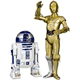 Star Wars C-3PO & R2-D2 1/10 Scale Art FX Statue [Import allemand]
