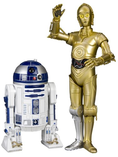 Kotobukiya Set 2 figuras C-3PO & R2-D2 Star Wars ARTFX+