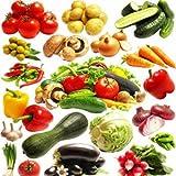 misti 200 semi / pack Molti tipi di semi di ortaggi fascio balcone semi di ortaggi quattro stagioni
