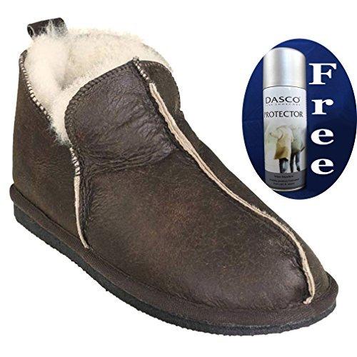 shepherd-schafspelz-stiefelette-slipper-stil-anton-4921-geolt-antik-53-inklusive-gratis-dasco-schutz