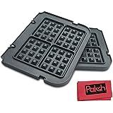 paksh/Cuisinart gr-wafp antiadherente Waffle Maker Placas extraíbles para Griddler...