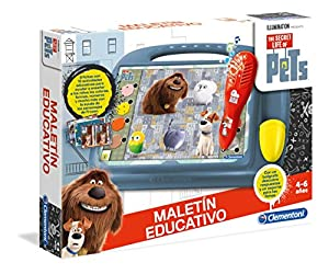 Clementoni - Maletín Educativo Secret Life of Pets (55144.6)