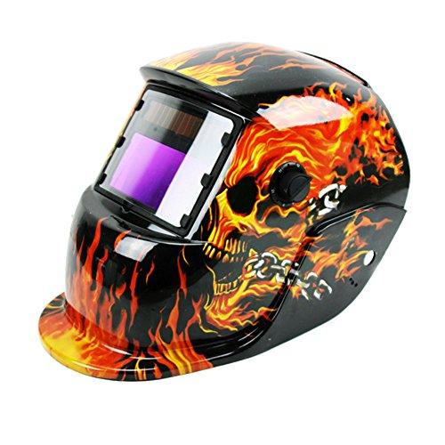 Preisvergleich Produktbild E Support™ Solar Schweißmaske Schweißhelm Automatik Schweißschirm Schweißschild verdunkelnd Arc Tig Mig 01