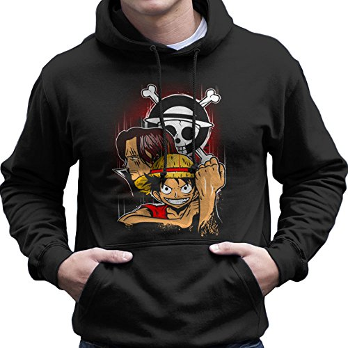 Pirate King Monkey D Luffy One Piece Men's Hooded