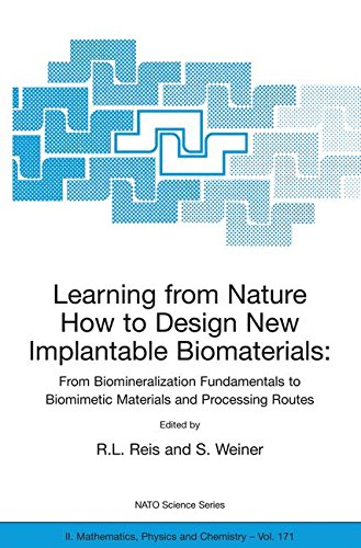 Learning from Nature How to Design New Implantable Biomaterials: From Biomineralization Fundamentals to Biomimetic Materials and Processing Routes: ... 13-24 October 2003 (Nato Science Series II:)