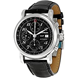Montblanc Men's 102135 Star Analog Display Swiss Automatic Black Watch